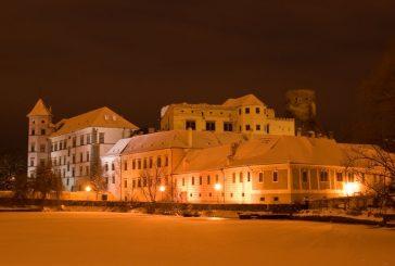 Jindřichův Hradec v zimě