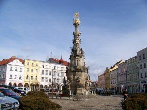 náměstí míru jindřichův hradec ilustrační