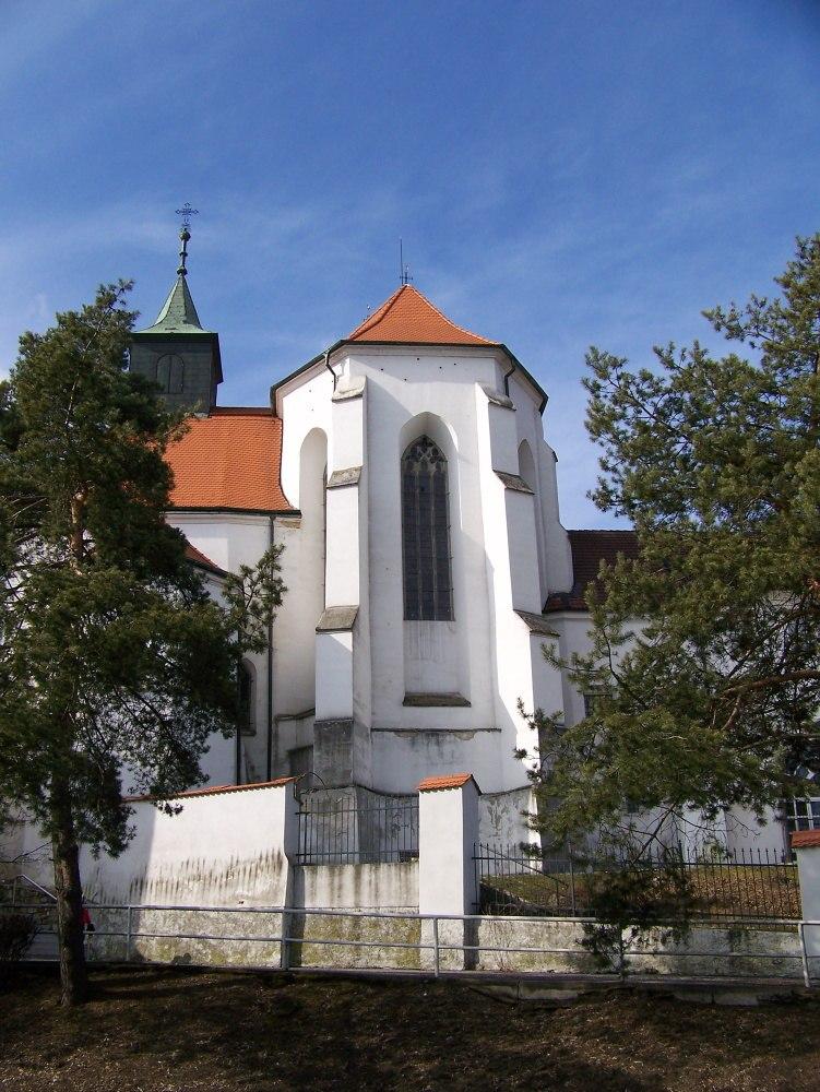 kostel jana křtitele muzeum jindrichohradecka ilustrační