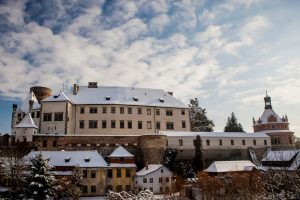 zámek jindřichův hradec ilustrační