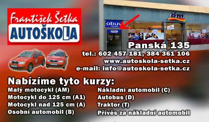 AUTOŠKOLA - František Šetka