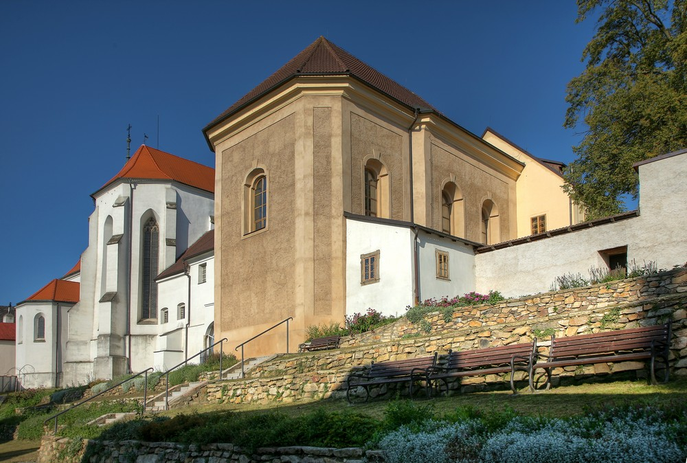 Muzeum Jindřichohradecka kostel sv jana křtitele