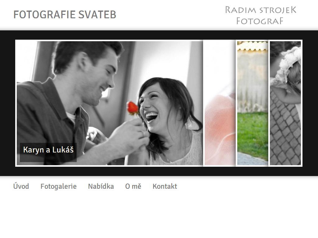 Fotografie svateb – Radim Strojek
