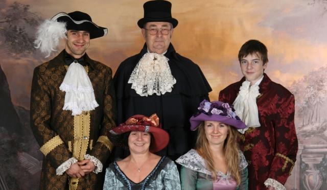 Fotografování v historických kostýmech a komentované prohlídky