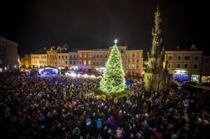 Objektivem Martina Kozáka: Pekelně zábavné odpoledne a rozsvícení vánočního stromku