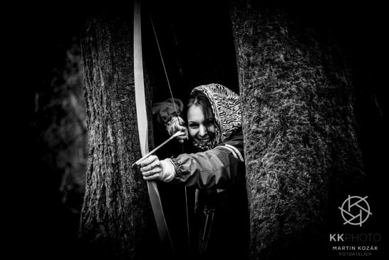 Objektivem Martina Kozáka: Lukostřelci v Jindřiši
