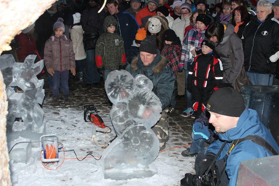 Vaše fotogalerie z ledového sochání - Autor: Sláva Rejthar