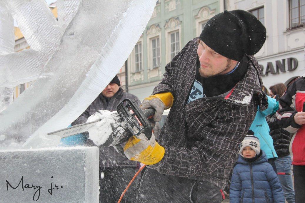Vaše fotogalerie z ledového sochání - Autor: Petr Maryška