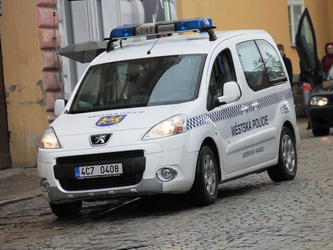 Městská policie.