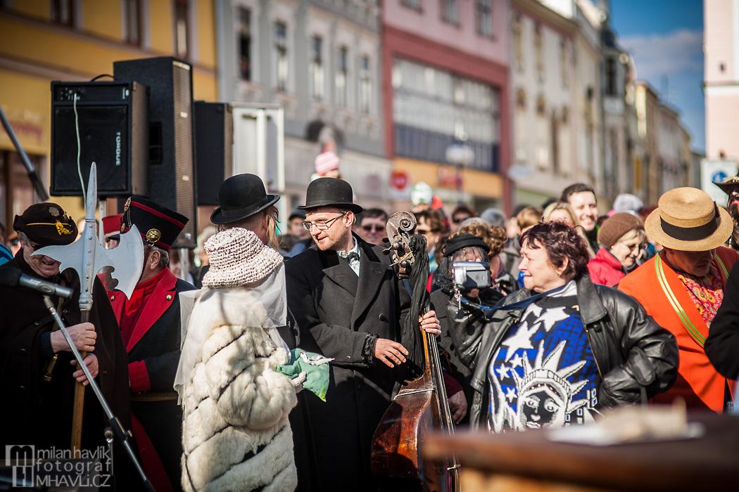 Objektivem Milana Havlíka: Masopustní průvod masek v J.Hradci 2014