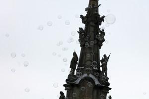 Hradec náměstí sloup