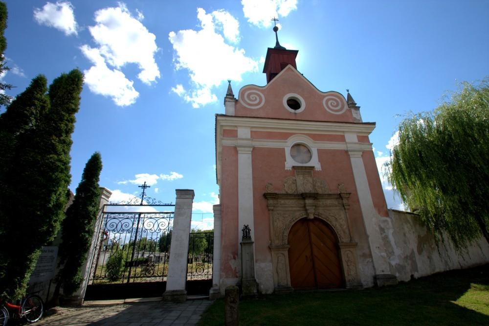 Slavonice Hřbitovní kaple 2