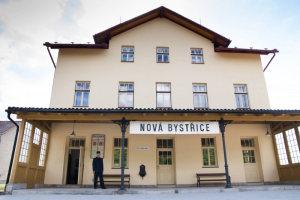 JHMD: Nejkrásnější nádraží – Nová Bystřice