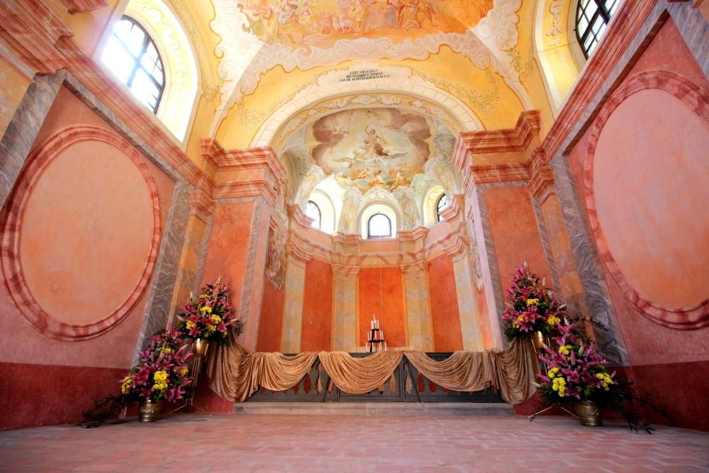 kaple sv. Kříže Slavonice