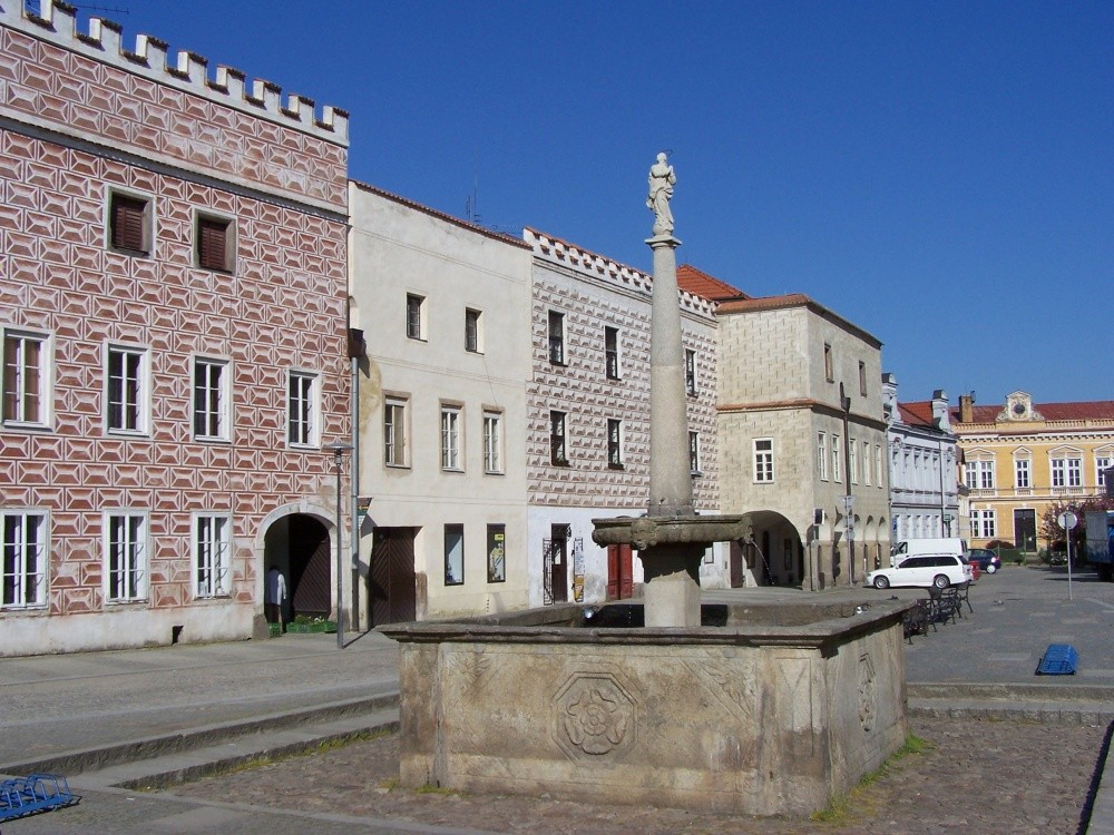 náměstí_Míru Slavonice