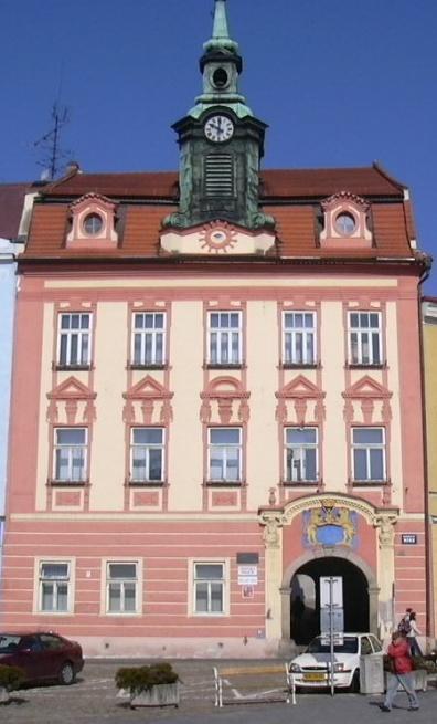 Stará radnice v Jindřichově Hradci