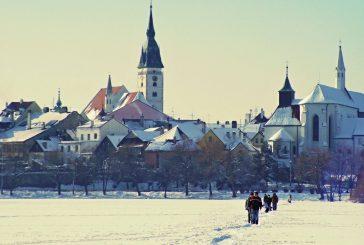 Fotil Walter Binder: Zasněžený Hradec v posledním desetiletí