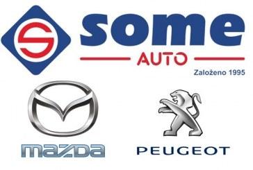 SOME Auto s.r.o. – autorizovaný prodej a servis vozů značek Peugeot a Mazda, servis vozů všech značek, ruční mytí vozů