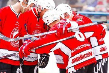 Hokejbalisté Olympu vedou vplay-off nad Brnem