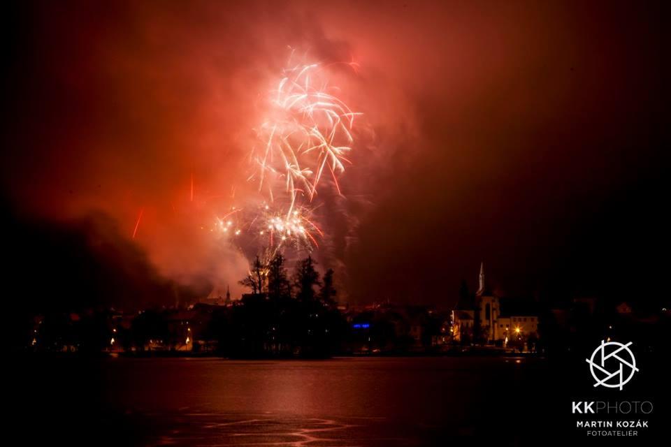 Fotil Martin Kozák: Novoroční ohňostroj 2016