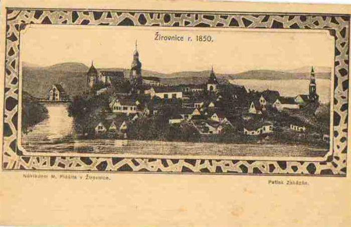 Historie zámku Žirovnice