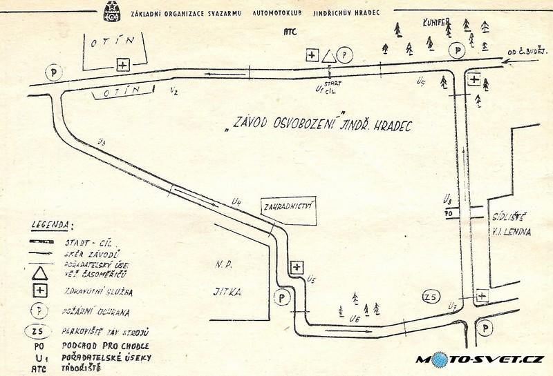mapka - start od roku 1976