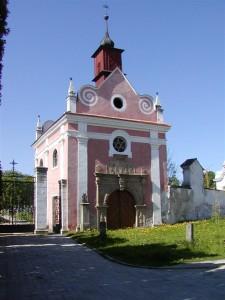 Kaple a kostely ve Slavonicích