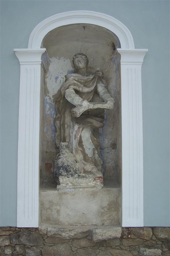 socha sv evangelisty slavonicenice