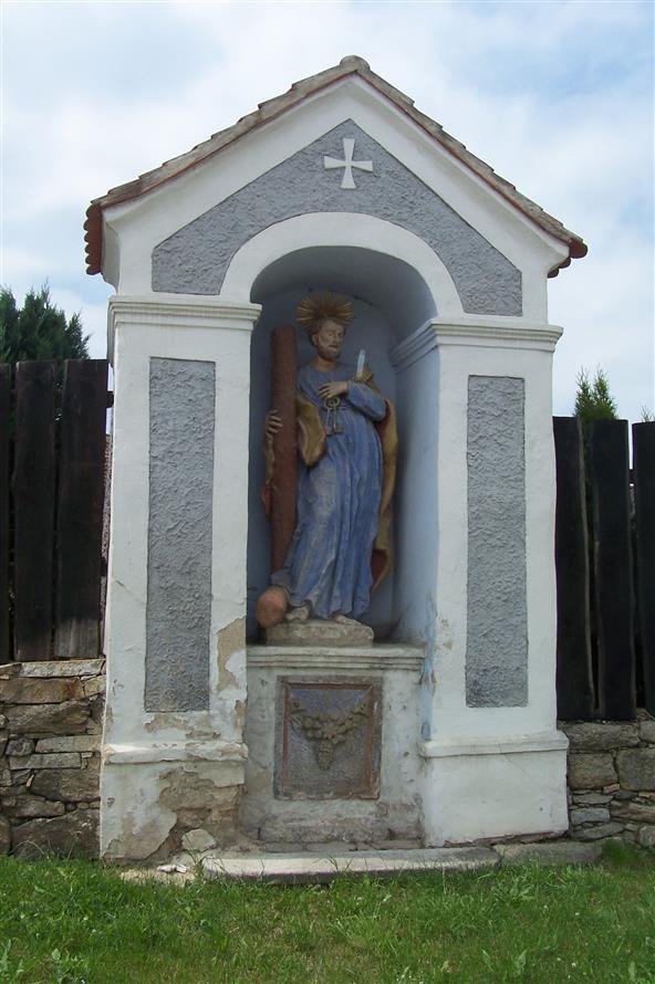 socha sv petra slavonice