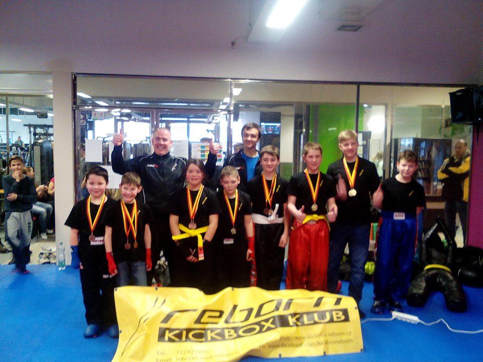 Další úspěch Kickbox klubu REBORN na přažském turnaji
