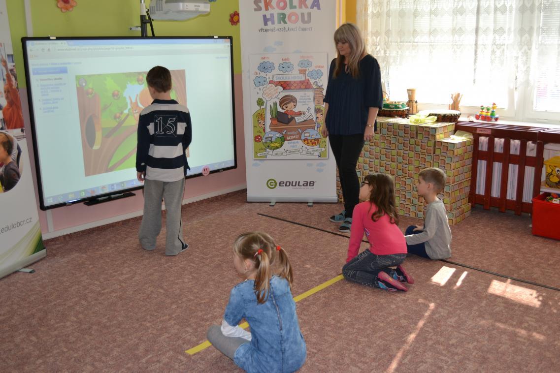 Jindřichohradecká školka bude metodickým centrem pro celý kraj při využívání moderních technologií