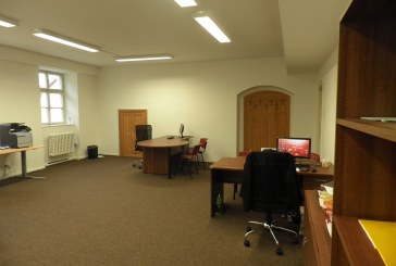 Pronájem prostorné kanceláře, Panská ulice 102, 52 m²