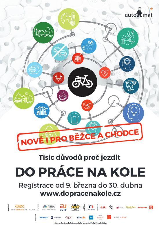 Do práce na kole 2016 – LETOS ŠLAPEME ZA NIKOLKU!