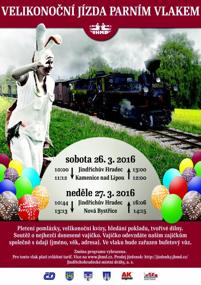 Parní vlaky vyjedou už na Velikonoce