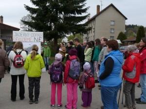 V sobotu proběhl pochod proti úložišti jaderného odpadu