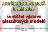Jindřichohradecká růže 2016 – soutěžní výstava plastikových modelů