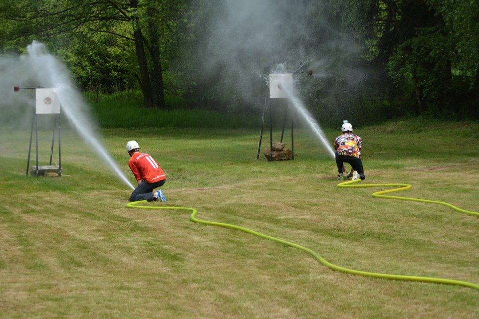 Prní kolo JHHL ovládli hasiči z Kunžaku