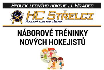 HC Střelci - nábory hokejistů a škola bruslení