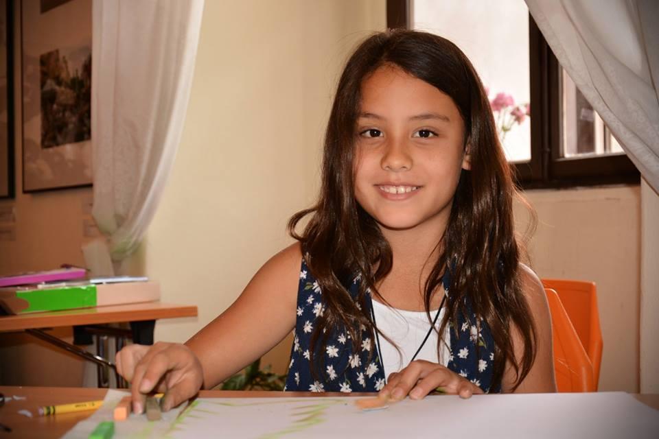 Fotila Eva: Školička kreslení ve FotoCafé