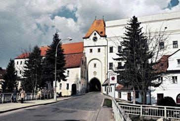 Nežárecká brána v Jindřichově Hradci