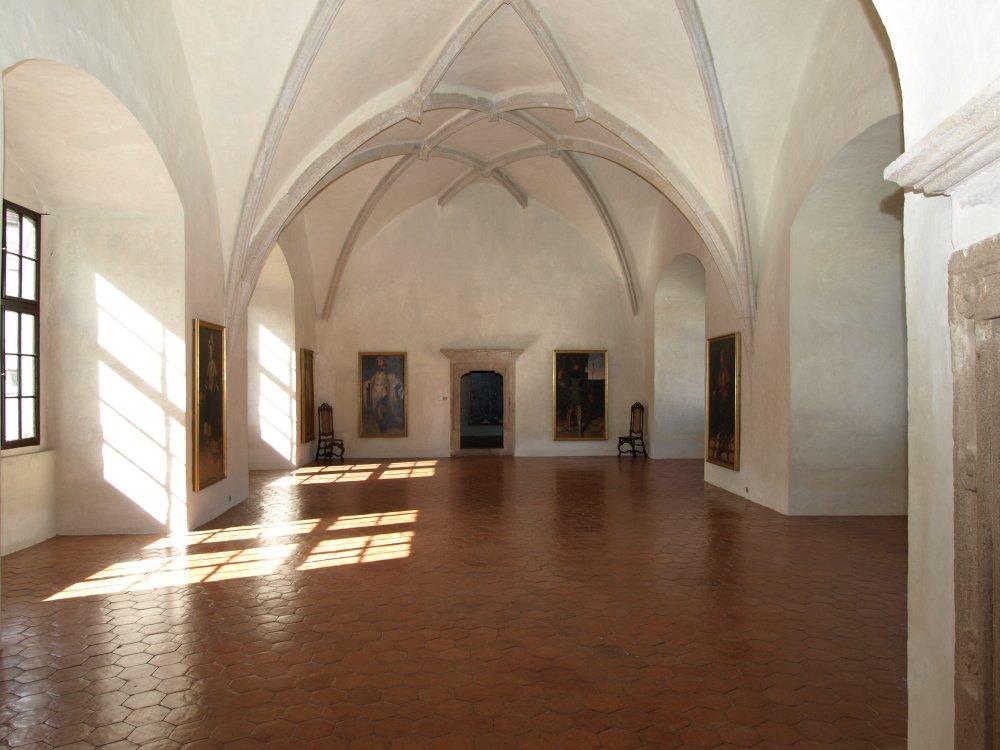 gotický palác jh - královský sál