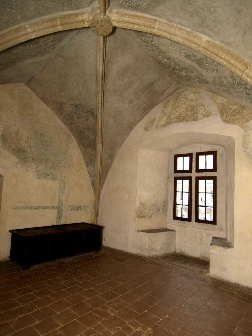 gotický palác jh - síň před legendou