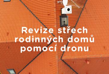 Revize střech pomocí dronu - video