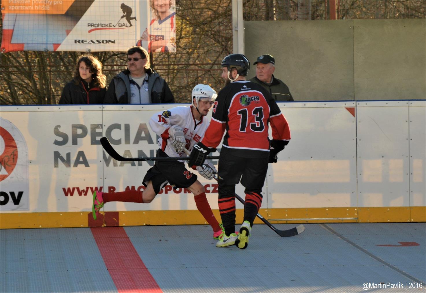 Výhra hokejbalistů Olympu nad Teplicemi se nerodila lehce
