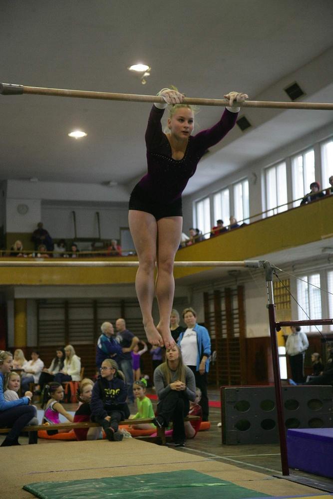 Skvělé výsledky sportovních gymnastek