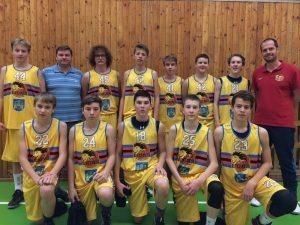 Mladí basketbalisté Lions U15 postoupili do extraligy