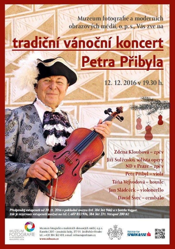 Vánoční koncert Petra Přibyla a jeho hostů
