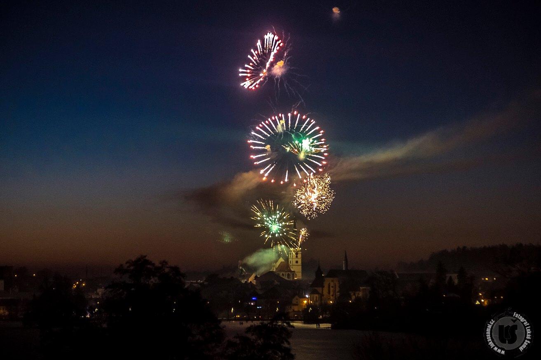 Obrazem: Novoroční ohňostroj 2017