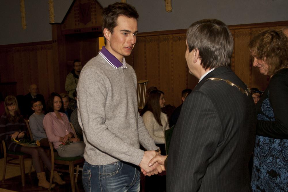 Ocenění mladých sportovců Jindřichova Hradce