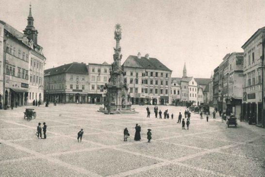 namesti_miru_1905 historické foto jindrichuv hradec